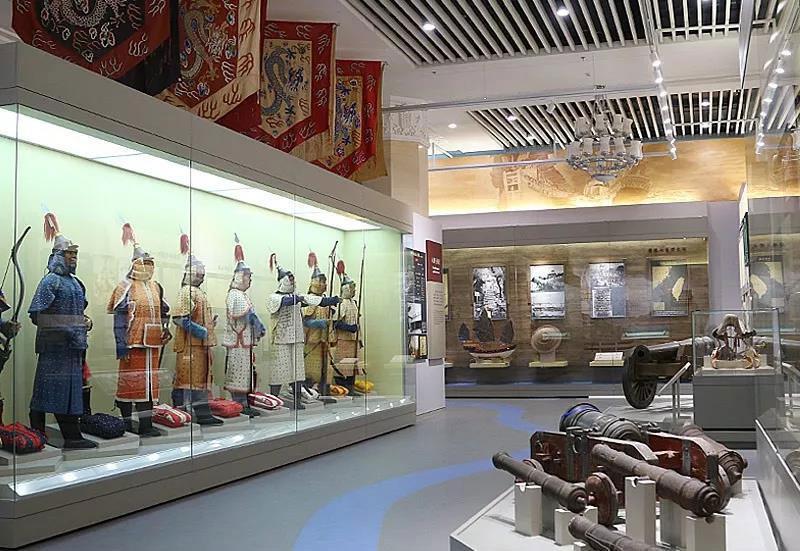 中国军事博物馆部分基本陈列开放试运行!