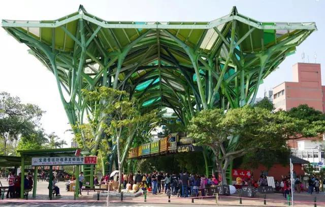 台湾文创—文创与公共空间设计的巧妙结合 | 宜兰几米广场