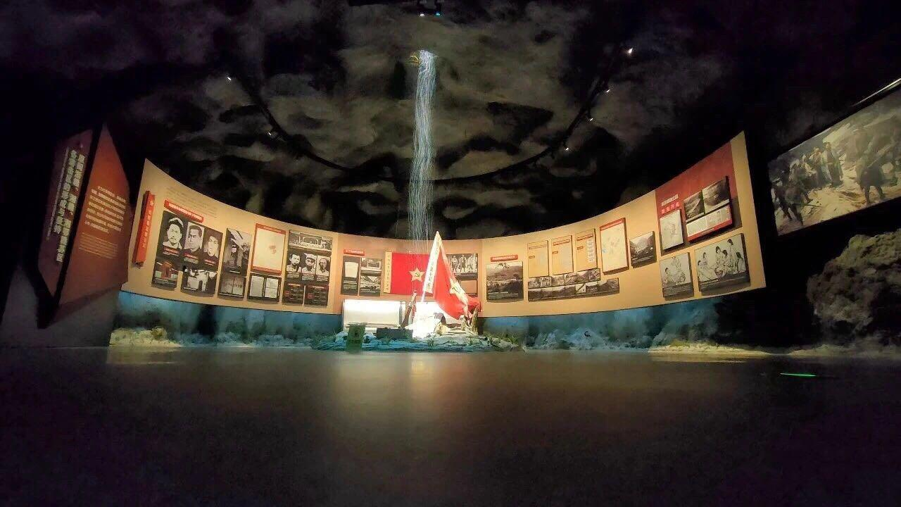 中国共产党成立100周年精品展览——南方红军三年游击战争纪念馆
